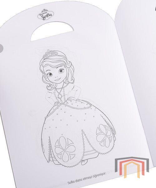 Disney Oku Ciz Boya Prenses Sofia Faaliyetli Oyku Kitabi
