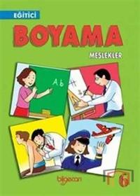 Eğitici Boyama 6 - Meslekler