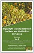 Bryophyta Vol. 2 - Bryophyte Locality Data From The Near and Middle East 1775 - 2019