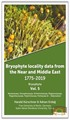 Bryophyta Vol.5 - Bryophyte Locality Data From The Near and Middle East 1775 - 2019